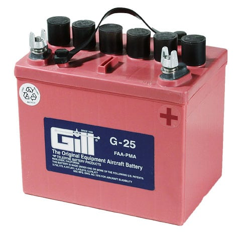 gill g25 flooded cell battery